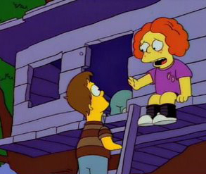 """""""The sign says 'No Homers'. We're allowed have one."""""""