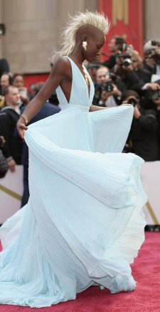 Lupita Nyong'o as mohawked Storm is the best fancast ever. (source: Geek Outside)