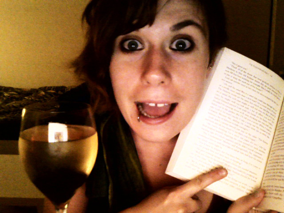 content note: large bottle of pinot grigio